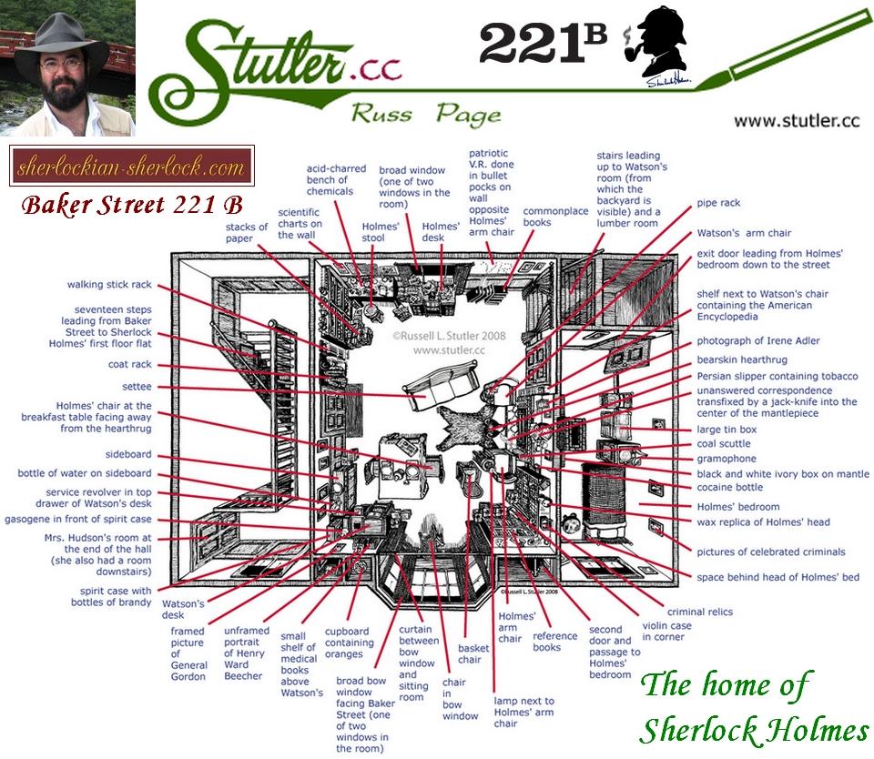 221b Baker Street Map Baker Street 221b Floor Plan