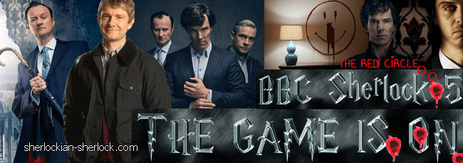 BBC Sherlock series 5 The Game is On