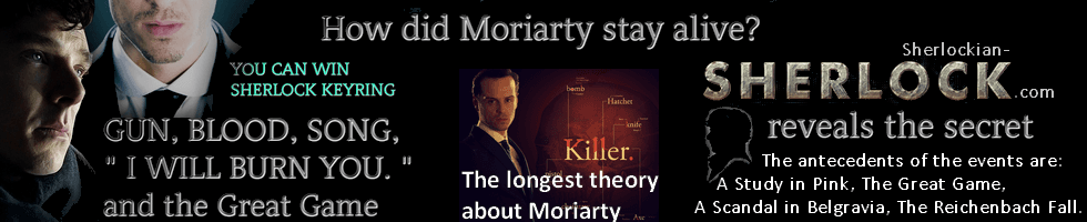 BBC Sherlock series 4 Moriarty death