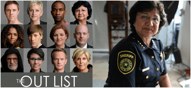 The out list Lupe Valdez