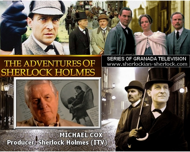 Jeremy Brett: The adventures of Sherlock Holmes