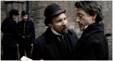 Sherlock Holmes and police