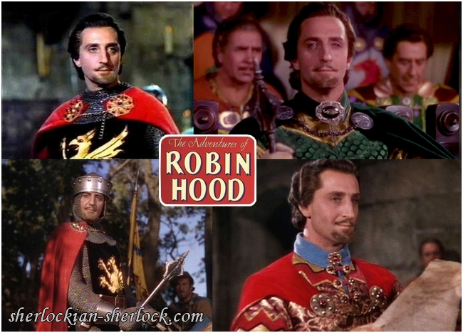 Basil Rathbone in Robin Hood