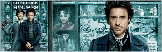Robert Downey Sherlock Holmes movie