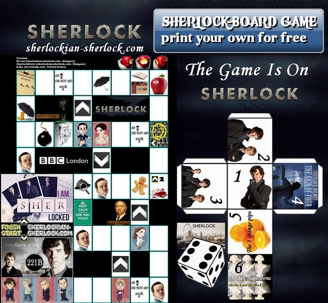 Sherlock Board Game