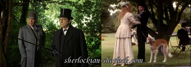 Dogs Granada Sherlock Holmes series, Jeremy Brett