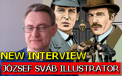 Holmes Graphic novels interview