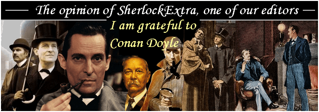 Thoughts on Conan Doyle