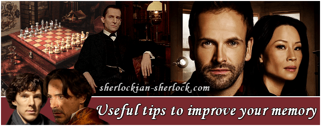 Sherlock Holmes improve brain concentration memory mind