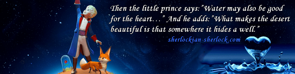 Exupéry The Little Prince water heart