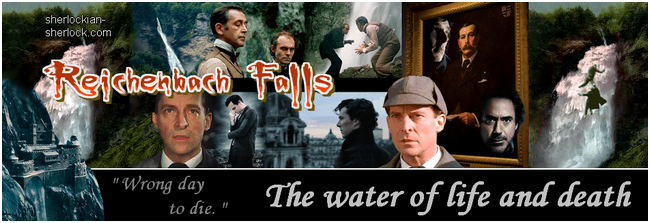 Sherlock Holmes and the Reichenbach Falls