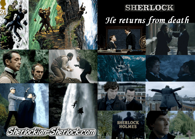Sherlock returns from death