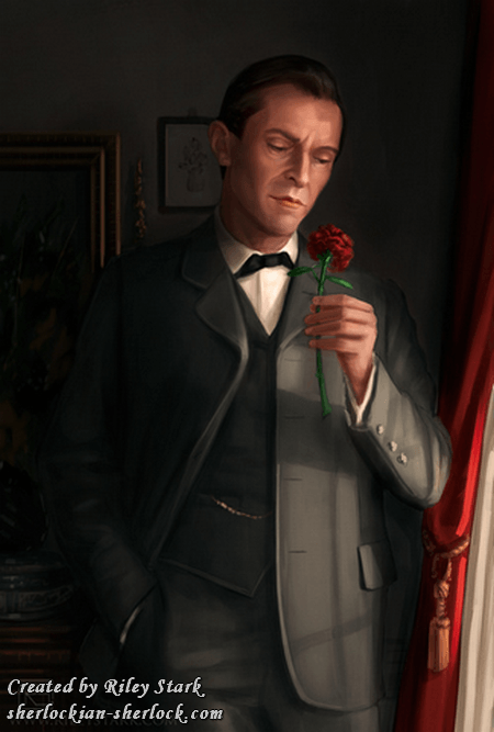 Sherlock Holmes and the rose