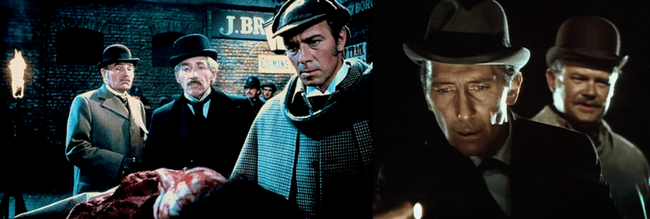 Sherlock Holmes and violence