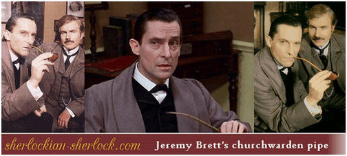 Jeremy Brett's churchwarden pipe