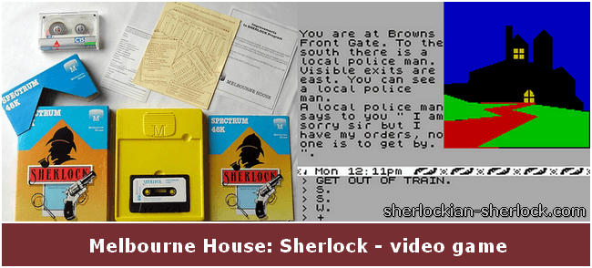 Melbourne House Sherlock game