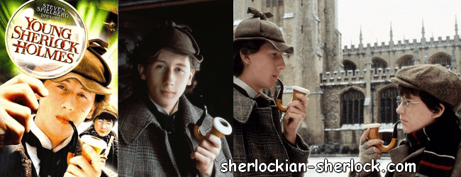 Young Sherlock Holmes pipe