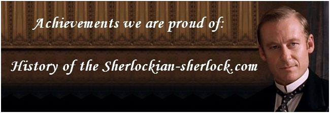 History of the Sherlockian site