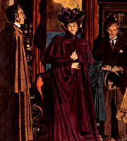 Robert Fawcett Sherlock Holmes illustration