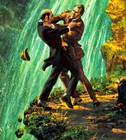 Sherlock Holmes Professor Moriarty Reichenbach Fall