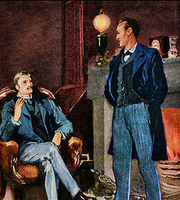 Sidney Paget Sherlock Holmes Baker Street