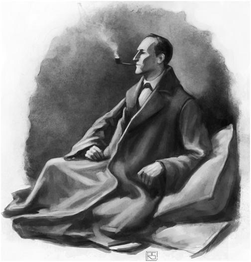 RileyStark Sherlock Holmes Sidney Paget