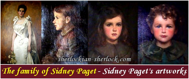 The family of Sidney Paget