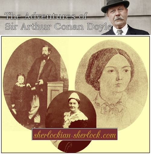 Conan Doyle parents: Altamont and Mary Doyle